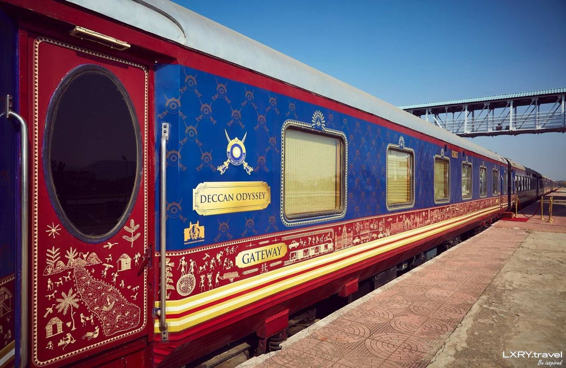 Deccan Odyssey - Luxury Train Travel in India
